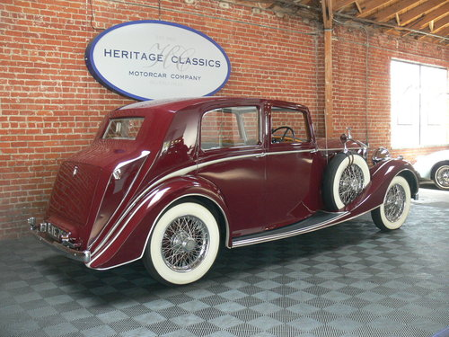 1938 Rolls-Royce 25/30 For Sale (picture 3 of 6)