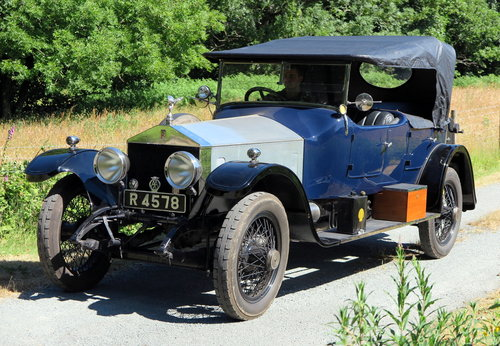 1920 Rolls-Royce Silver Ghost Open Tourer 75CW For Sale (picture 3 of 6)