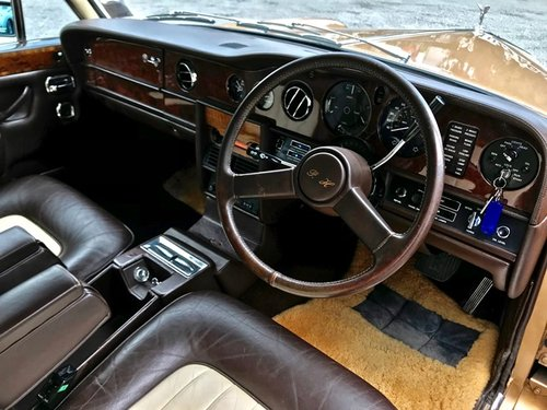 1978 ROLLS ROYCE SILVER WRAITH 2 RHD SOLD (picture 4 of 6)