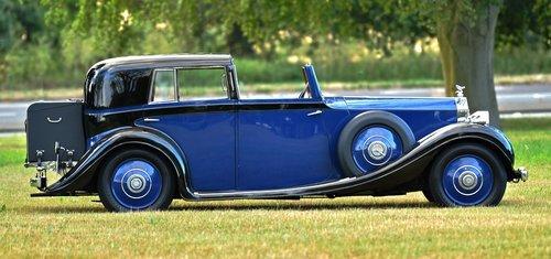 1936 Rolls Royce 25-30 Sedanca De Ville by Gurney Nutting For Sale (picture 3 of 6)