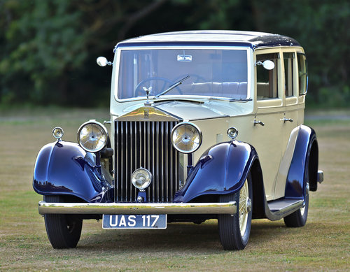 1935 Rolls Royce 20/25 Six Light by Rippon Bros. SOLD (picture 1 of 6)