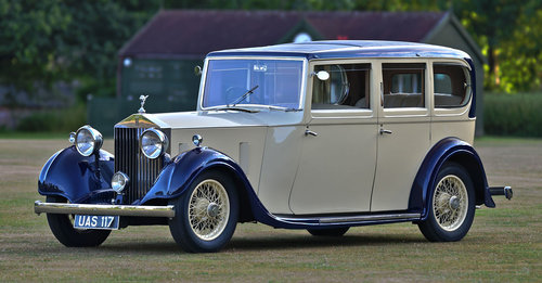 1935 Rolls Royce 20/25 Six Light by Rippon Bros. SOLD (picture 3 of 6)