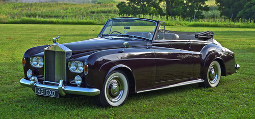 1963 Rolls Royce Silver Cloud III Drophead Coupe by H.J. Mul For Sale (picture 1 of 6)
