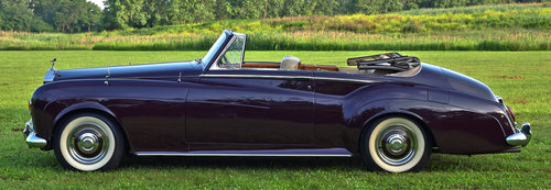 1963 Rolls Royce Silver Cloud III Drophead Coupe by H.J. Mul For Sale (picture 3 of 6)