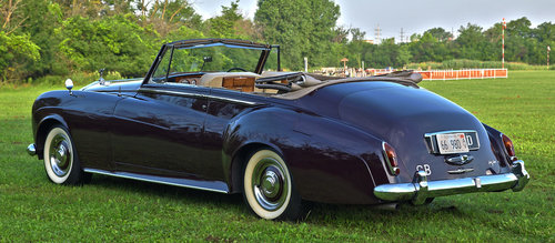 1963 Rolls Royce Silver Cloud III Drophead Coupe by H.J. Mul For Sale (picture 4 of 6)