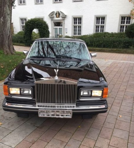 1985 Black with red leather , a dream Silver Spirit ! For Sale (picture 1 of 6)