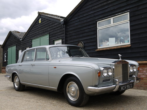 1966 ROLLS ROYCE SILVER SHADOW 1 - RARE EARLY CAR 60K MILES !! SOLD (picture 1 of 6)