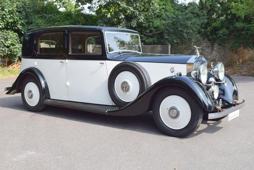 1936 Rolls Royce 25/30 Limousine For Sale (picture 1 of 6)