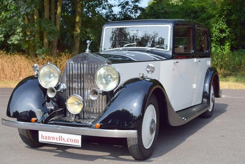 1936 Rolls Royce 25/30 Limousine For Sale (picture 2 of 6)
