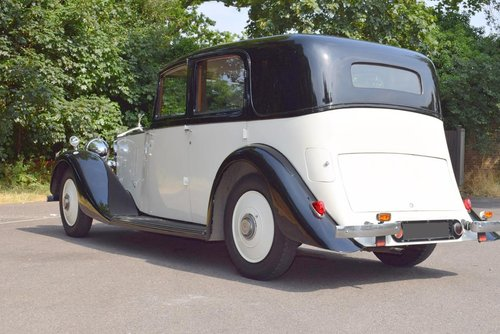 1936 Rolls Royce 25/30 Limousine For Sale (picture 5 of 6)