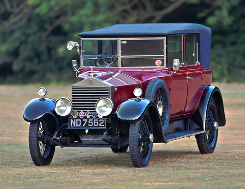 1924 Rolls Royce 20HP Cockshoot all weather Cabriolet For Sale (picture 1 of 6)