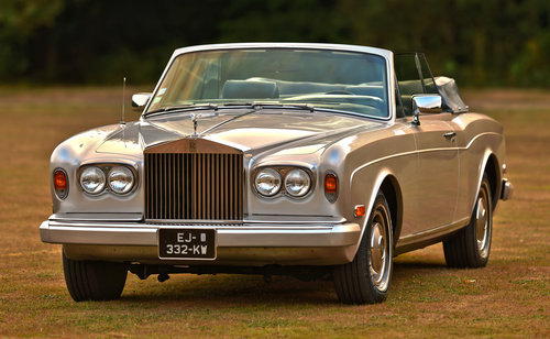 1982 Rolls Royce Corniche Convertible LHD For Sale (picture 1 of 6)