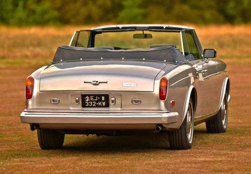 1982 Rolls Royce Corniche Convertible LHD For Sale (picture 2 of 6)
