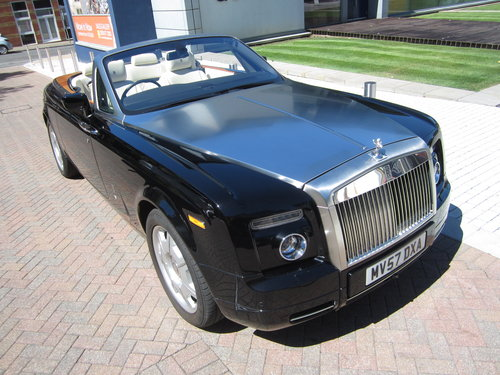 2008 Rolls Royce Phantom Drop Head Coupe For Sale (picture 1 of 6)