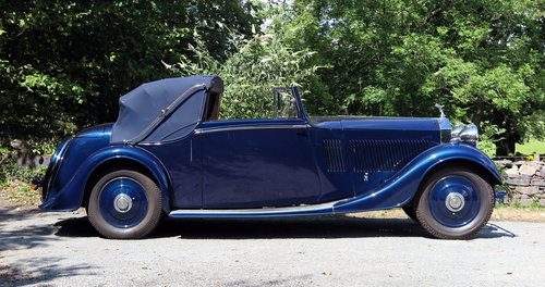 1935 Rolls-Royce 20/25 Thrupp & Maberly 3pos DHC GAF81 For Sale (picture 1 of 6)