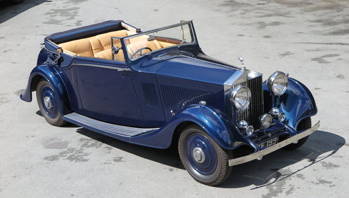 1935 Rolls-Royce 20/25 Thrupp & Maberly 3pos DHC GAF81 For Sale (picture 2 of 6)