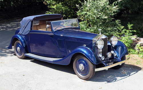 1935 Rolls-Royce 20/25 Thrupp & Maberly 3pos DHC GAF81 For Sale (picture 3 of 6)