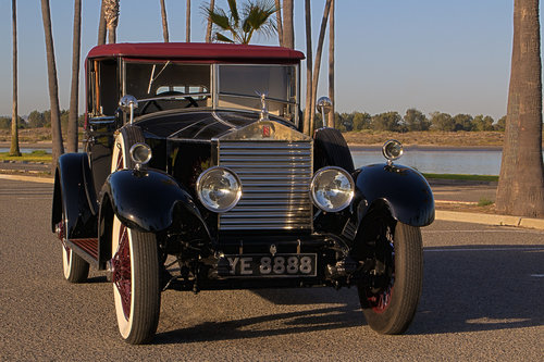 1927 Rolls Royce 20hp Doctors Coupe by Park Ward For Sale (picture 1 of 6)