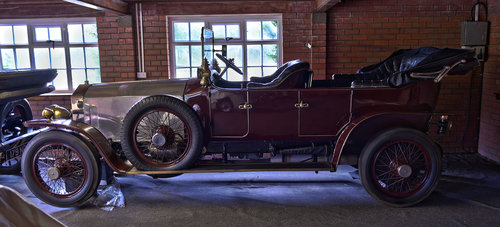 1922 Rolls Royce Silver Ghost Henri Binder Victoria hood For Sale (picture 1 of 6)