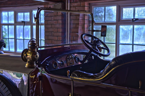 1922 Rolls Royce Silver Ghost Henri Binder Victoria hood For Sale (picture 5 of 6)