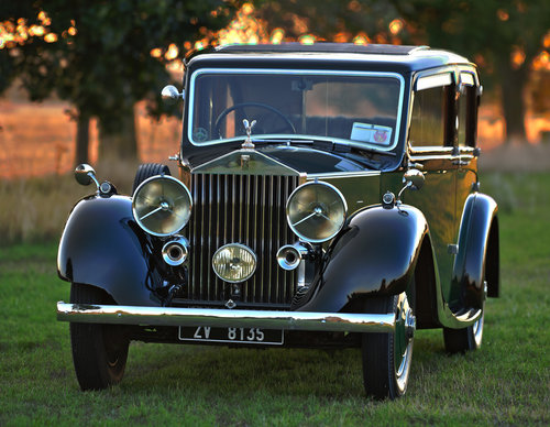 1933 Rolls-Royce 20/25 By Mulliner SOLD (picture 1 of 6)