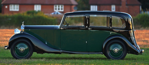 1933 Rolls-Royce 20/25 By Mulliner SOLD (picture 3 of 6)