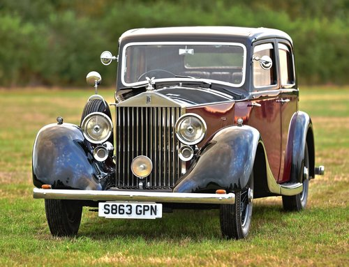 1936 Rolls Royce 20/25 Hooper Sports Saloon For Sale (picture 1 of 6)
