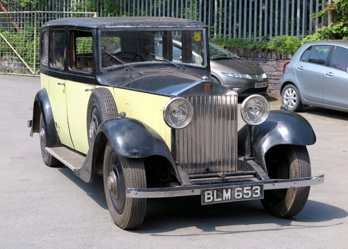 1934	 Rolls-Royce 20/25 Mann Egerton Limousine GWE32 For Sale (picture 1 of 6)