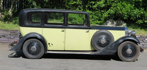 1934	 Rolls-Royce 20/25 Mann Egerton Limousine GWE32 For Sale (picture 3 of 6)