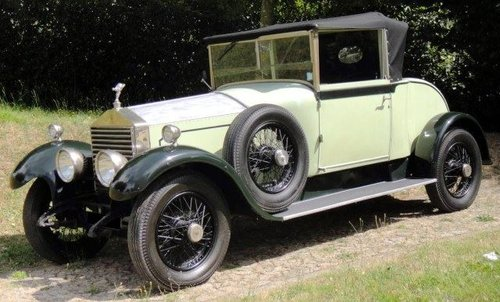 Rolls Royce Twenty, Barker - 1924 - Chassis GMK 73 For Sale (picture 1 of 6)