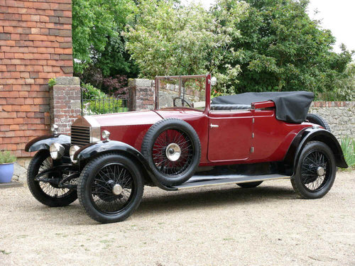 1923 Rolls-Royce 20 HP Doctors Coupe Convertible Windover  For Sale (picture 1 of 6)