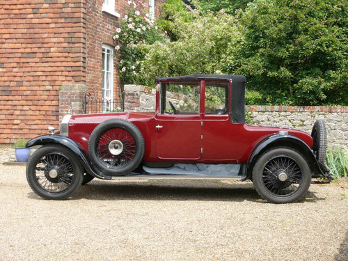 1923 Rolls-Royce 20 HP Doctors Coupe Convertible Windover  For Sale (picture 2 of 6)