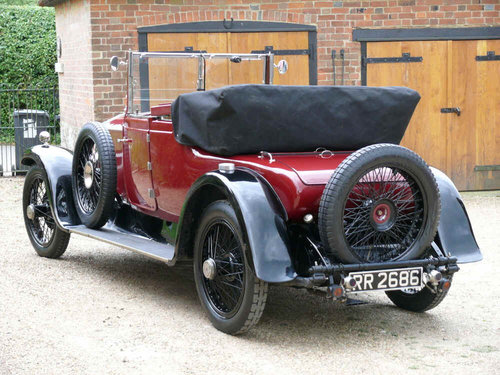 1923 Rolls-Royce 20 HP Doctors Coupe Convertible Windover  For Sale (picture 3 of 6)