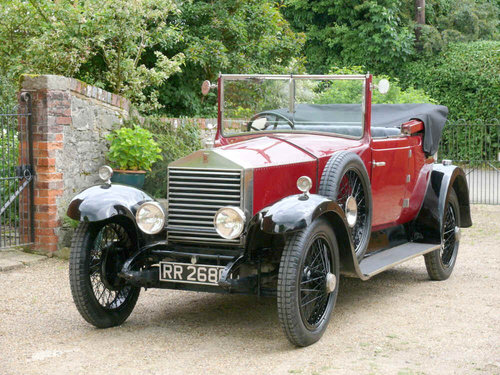 1923 Rolls-Royce 20 HP Doctors Coupe Convertible Windover  For Sale (picture 4 of 6)