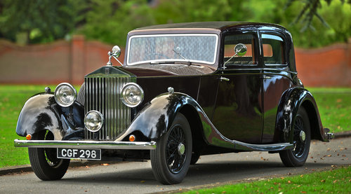 1935 Rolls-Royce 20/25 Hooper Sports Saloon For Sale (picture 1 of 6)