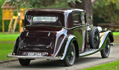 1935 Rolls-Royce 20/25 Hooper Sports Saloon For Sale (picture 2 of 6)