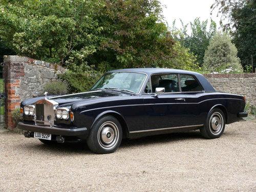 1976 Rolls-Royce Corniche FHC For Sale (picture 1 of 6)