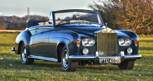 1964 Rolls Royce Silver Cloud III Convertible For Sale (picture 1 of 6)