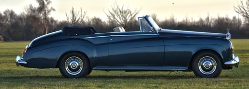 1964 Rolls Royce Silver Cloud III Convertible For Sale (picture 2 of 6)