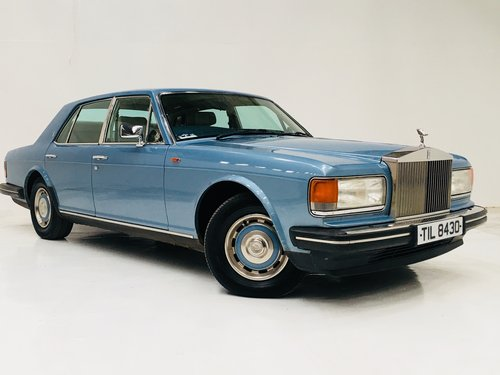 1987 SILVER SPRIT - COLLEGE BLUE, SAME OWNER LAST 19 YEARS  SOLD (picture 2 of 6)