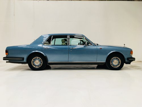 1987 SILVER SPRIT - COLLEGE BLUE, SAME OWNER LAST 19 YEARS  SOLD (picture 3 of 6)