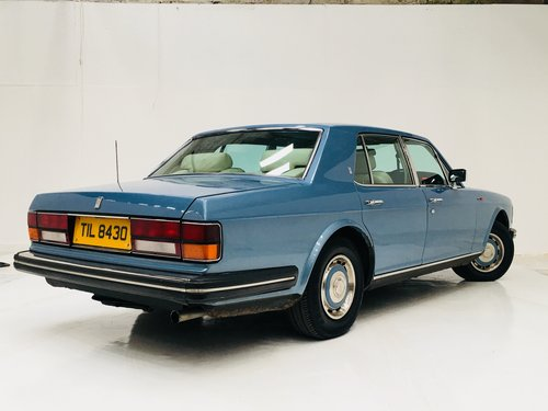 1987 SILVER SPRIT - COLLEGE BLUE, SAME OWNER LAST 19 YEARS  SOLD (picture 4 of 6)
