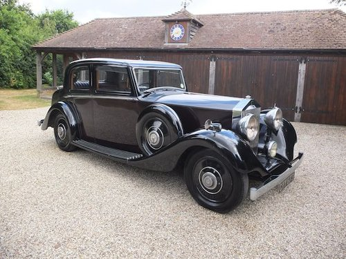 1936 Rolls-Royce 25/30 Sports Saloon For Sale (picture 1 of 6)