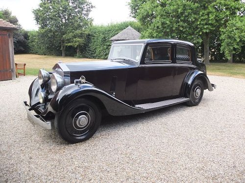 1936 Rolls-Royce 25/30 Sports Saloon For Sale (picture 2 of 6)