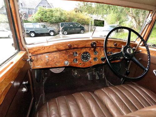 1937  Rolls-Royce 25/30 Freestone & Webb Saloon GRP75 For Sale (picture 4 of 6)