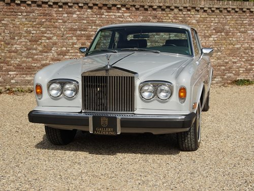 1980 Rolls Royce Corniche Fixed Head Coupe Series 2 only 1.090 ma For Sale (picture 5 of 6)