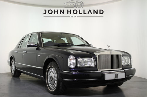 1999/V Rolls Royce Silver Seraph Auto, Only 24295 Miles, For Sale (picture 1 of 6)