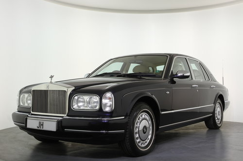 1999/V Rolls Royce Silver Seraph Auto, Only 24295 Miles, For Sale (picture 2 of 6)