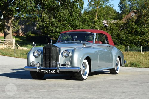 1960 Rolls-Royce Silver Cloud II DHC by H.J. Mulliner For Sale (picture 1 of 6)
