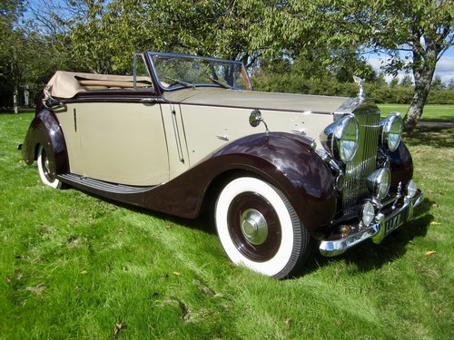1949 Rolls Royce Silver Wraith Convertible For Sale (picture 1 of 6)